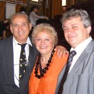 Ioana Georgescu cu Gh Zamfir si Inspector general Mihai Stroe, 2006