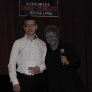 Ioana Georgescu si Octavian Preda, flaut, Marele Premiu 2014,