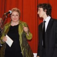 Ioana Georgescu si Valentin Malanetchi, pian, Marele Premiu George Georgescu 2012